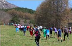 『ゲレンデ逆走マラソン2017  紅葉のゲレンデを走ろう! 磐梯山ハーフマラソン』