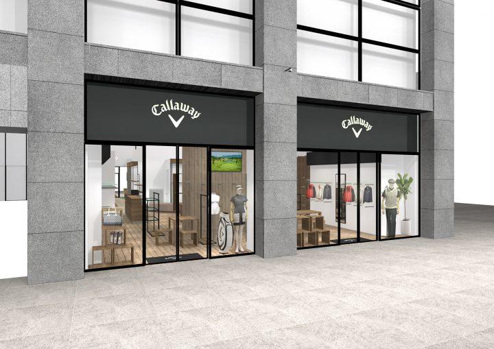 「Callaway Apparel」の全アイテムがラインナップされる国内最大級の路面店が丸の内にオープン!