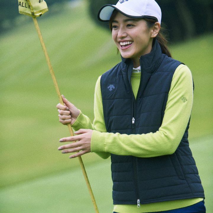 冬にゴルフをするとき、街を歩くとき、ワタシを守ってくれるのはヒートナビ®。