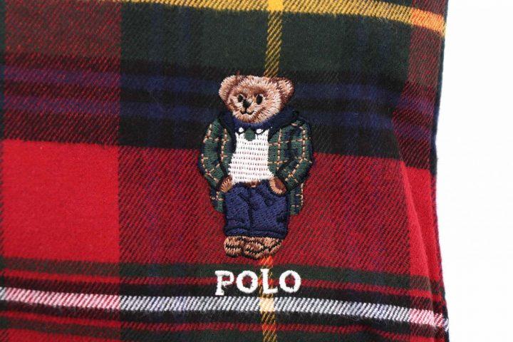 「POLO RALPH LAUREN」の巾着付きパジャマで旅先でもPOLOベアに見守られながらぐっすり
