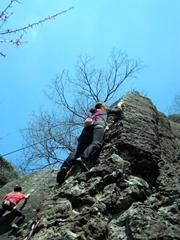 『[ベーシッククラス] ロッククライミング湯河原幕岩』