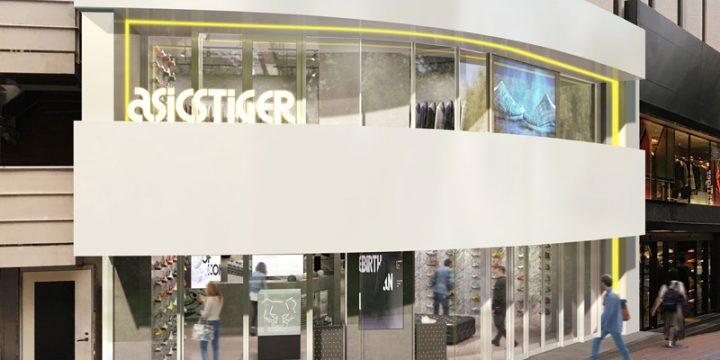 「ASICSTIGER」の渋谷店は内装からラインナップまで最上級!