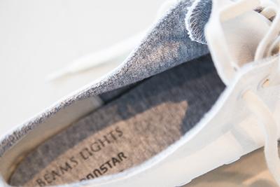 柔らかい面持ちのキャンバススニーカーはこれからの季節に最適! 「BEAMS LIGHTS」別注の「MOONSTAR」