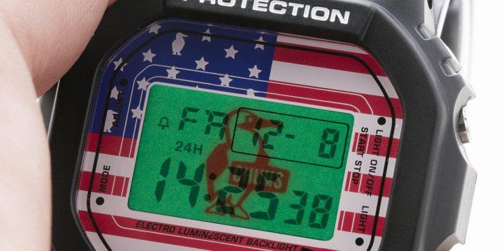 """""""ザ・アメリカ!""""な35周年記念同士の「G-SHOCK」と「CHUMS」のコラボレーションモデル"""