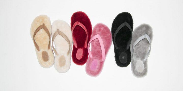 """「UGG」の人気モデル""""Fluffie""""が「emmi」をはじめとする5ブランドとコラボ"""