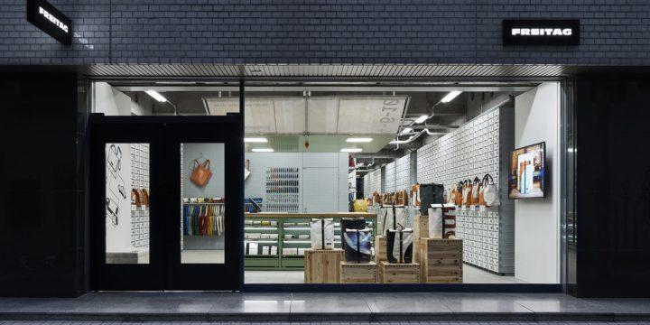 「FREITAG」の大阪ストアには1,200を超える1点ものがストック! あなたのためのバッグが待ってます