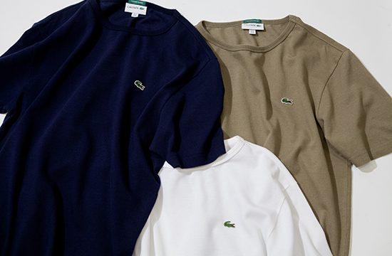 「LACOSTE」×「B:MING by BEAMS」のTシャツがイイ感じのビッグシルエットなんです!