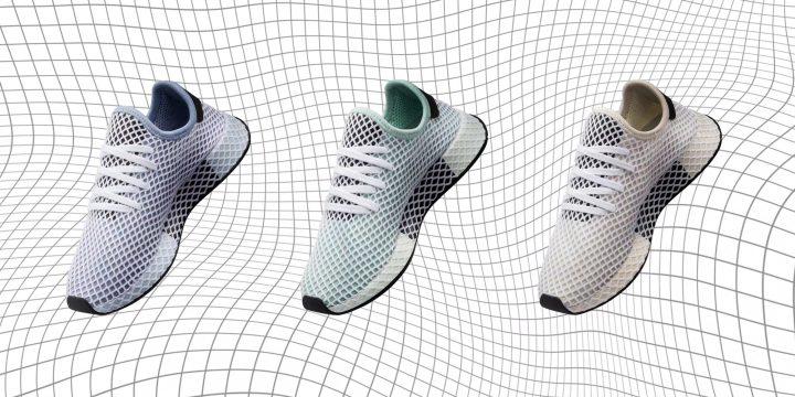 "「adidas Originals」のまるで現代建築のような美しさの""DEERUPT""のニューカラー"