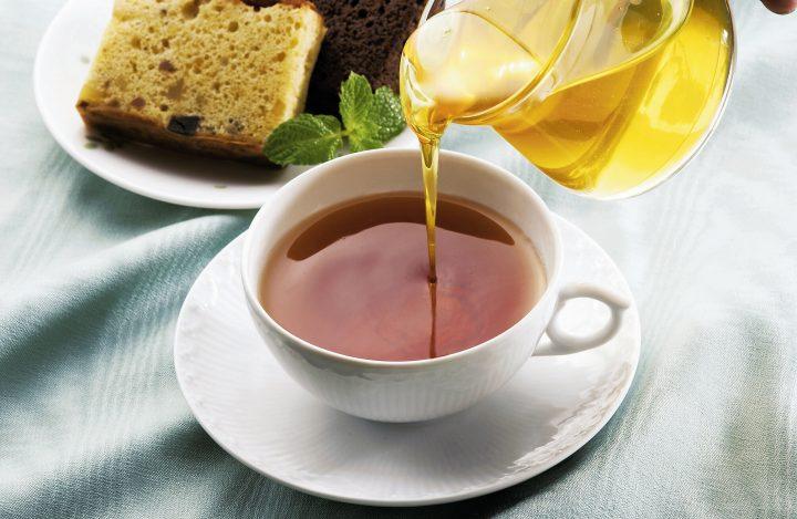紅茶とはちみつ