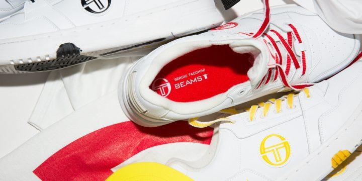 「SERGIO TACCHINI」と「BEAMS T」のコラボアイテムがスポーツファッションシーンを賑わす予感