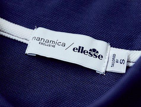 「nanamica」と「ellesse」のコラボトップスは夏を快適に過ごさせてくれる逸品