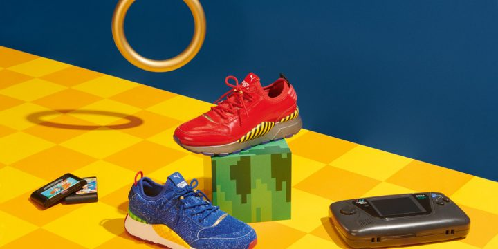 「PUMA」が「SEGA」を代表するあのゲームとコラボしたスニーカーをリリース!
