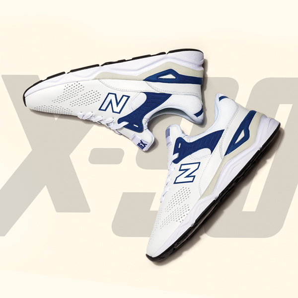 """「new balance」の""""X-90""""のニューカラーは夏に最適なさわやかな色合い!"""