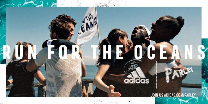 """「adidas×Parley」が 海洋プラスチック汚染に対する環境運動として""""RUN FOR THE OCEANS""""を取り組む"""