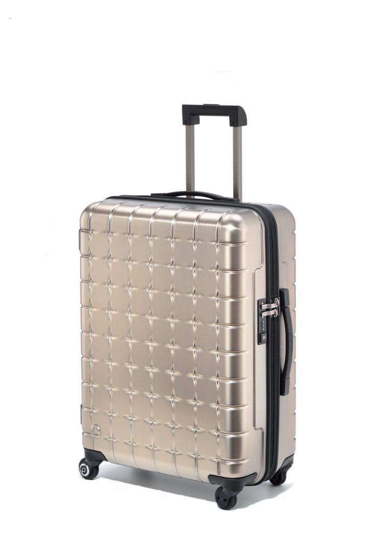 """「PROTECA」のタテヨコに開くスーツケース""""360s""""のシャンパンゴールドが限定販売!"""