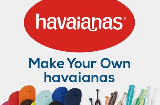 「havaianas」の自分だけのサンダルが作れるカスタムオーダー会が「B:MING by BEAMS」で開催!