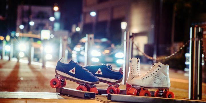 「le coq sportif」がなんとローラースケート付きのスペシャルなスニーカーを発売!?