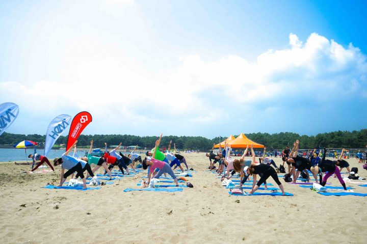 YOKOHAMA Beach Sports FESTA 2018「Special Event by HB YOGA」