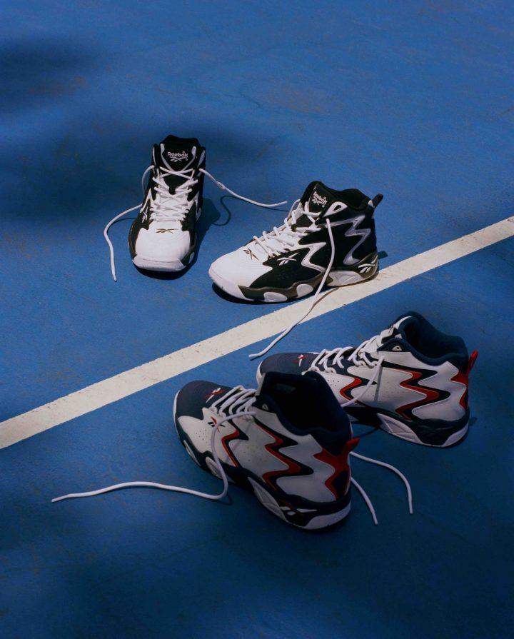 「Reebok CLASSIC」から90年代の名バスケットシューズのパーツを1足に集結させたスペシャルなモデルがリリース!