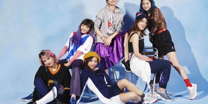 "「Reebok CLASSIC」の新作""FUSION LITE DMX""のキービジュアルにE-girlsメンバー6人が登場!"