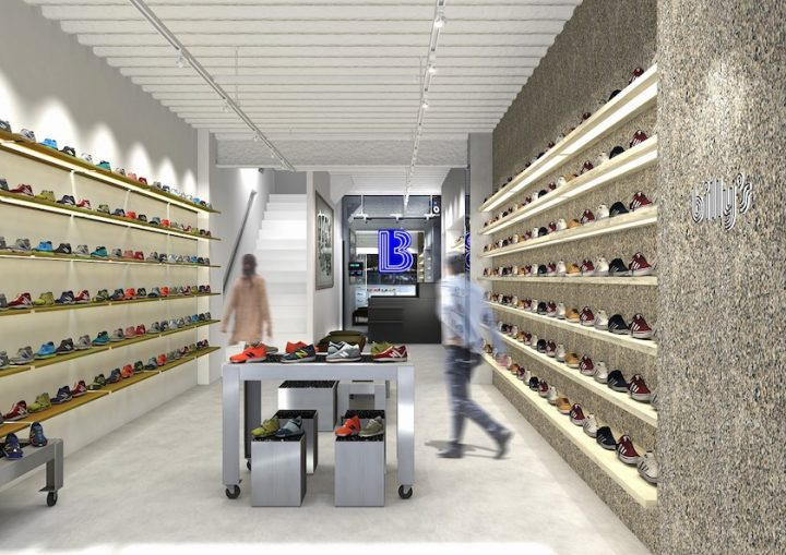 「BILLY'S」の新店舗が広島にオープン。音楽とアートが共存する新感覚のスニーカーショップ