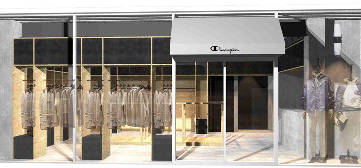 「Champion原宿店」がカットソーを主役とする「Champion SWEATS & TEES HARAJUKU」としてリニューアルオープン!