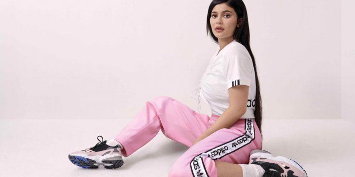 """「adidasOriginals」の""""ADIDASFALCON""""のキャンペーンモデルに""""Kylie Jenner""""が抜擢!"""