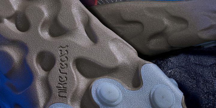 「NIKE REACT ELEMENT 87」が「UNDERCOVER」の世界観でカラーリングされたニューモデル