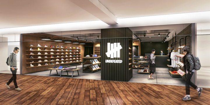 「UNDEFEATED」の勢いが止まらない! 次は新宿に新店舗がオープン!