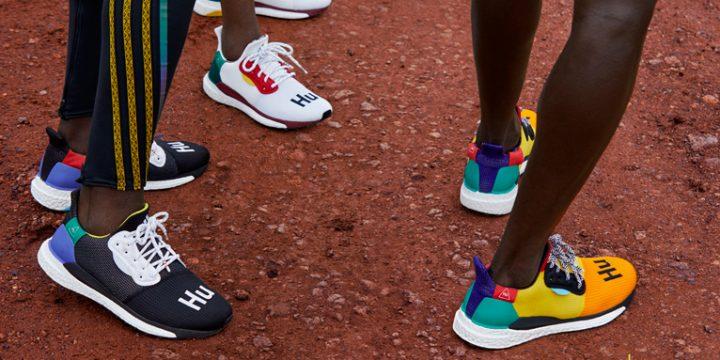 """「adidas by Pharrell Williams」の""""SOLAR HU Collection""""から、パーフォーマンスシューズとして機能するモデルがリリース!"""