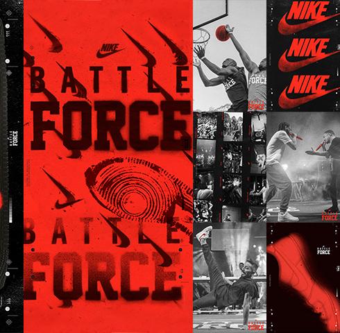 "「NIKE SPORTSWEAR」のバトル型イベント""BATTLE FORCE""は、バスケットボール・ダンス・ラップと見どころ満載!!"