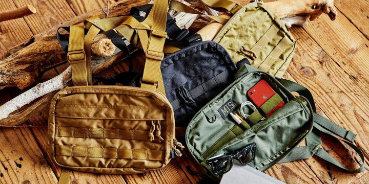 「MIS」のタフかつデザイン性あふれるバッグはさまざまなシーンで大活躍!