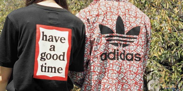 「adidas Originals by have a good time」はストリートカルチャーとスポーツウエアが握手!!