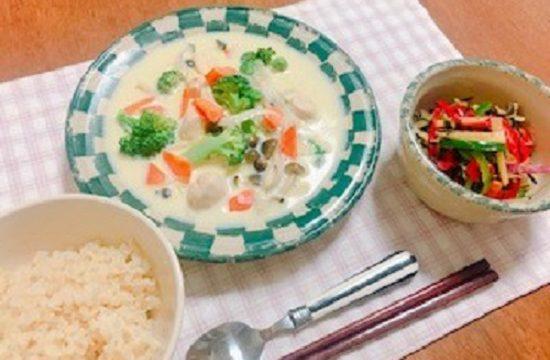 <第13回>具だくさん豆乳シチュー【管理栄養士作成・監修レシピ】