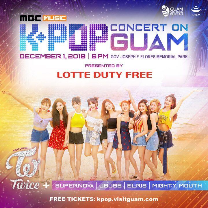グアムでK-POPコンサートを開催「 TWICE」ら豪華5組のアーティストが大集合!