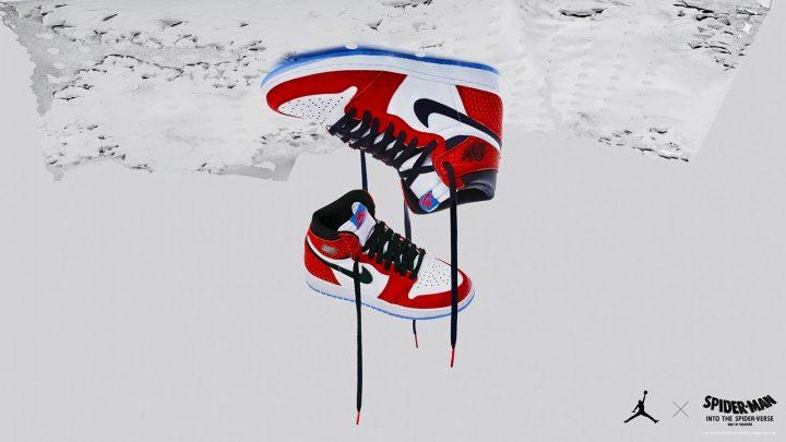 """映画『スパイダーマン:スパイダーバース』公開を記念したエア ジョーダン 1""""オリジン・ストーリー""""が登場"""