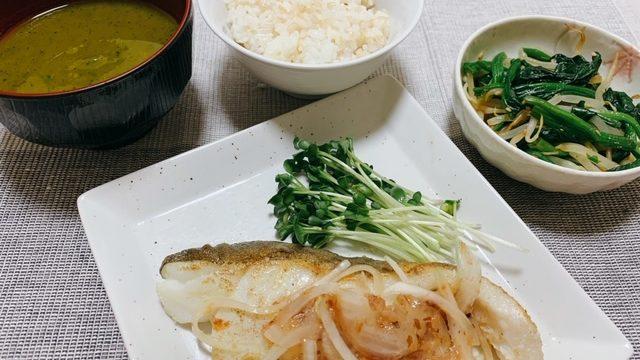<第22回>鱈のソテー~梅オニオン添え~【管理栄養士作成・監修レシピ】