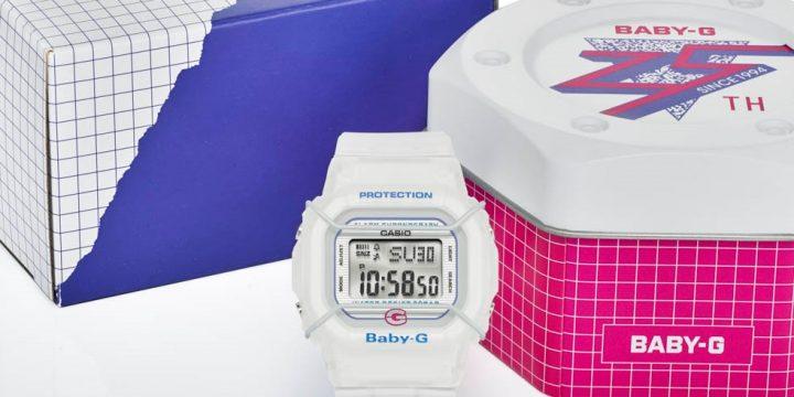 「BABY-G」25周年を記念して初代モデルが復刻!
