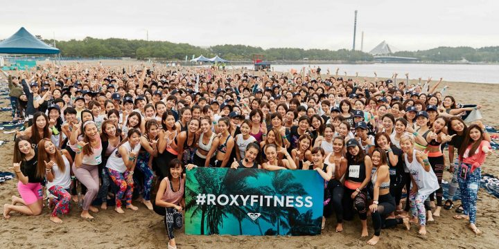 【ROXYFITNESS RUN SUP YOGA in YOKOHAMA】イベントレポート
