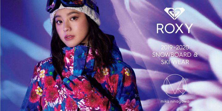 【ROXY】と【M/mika ninagawa】のコラボコレクション第3弾が発売