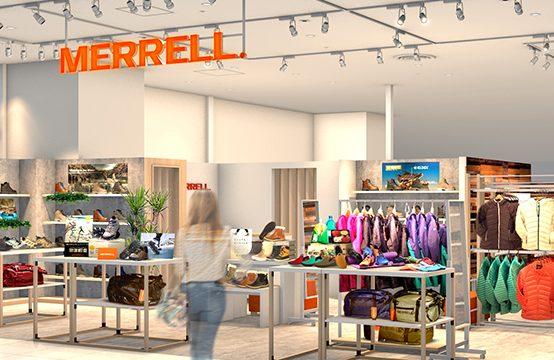 【メレル】2月21日(金)「MERRELLみなとみらい店」がリニューアルオープン
