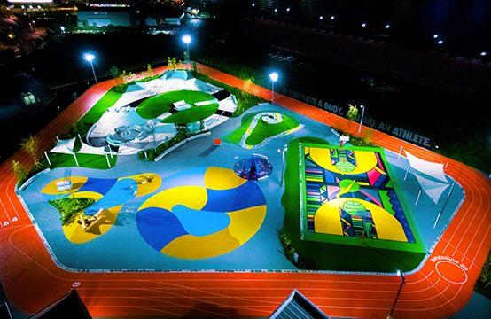 【ナイキ】スポーツパーク「TOKYO SPORT PLAYGROUND SPORT×ART」が10月10日オープン