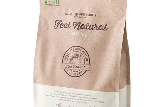 【FIXIT】無添加にこだわった「FIXIT FEEL NATURAL グラスフェッドホエイプロテイン(プレーン)」を発売
