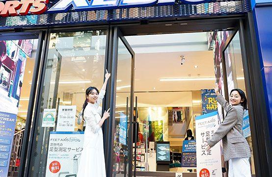 スーパースポーツゼビオ 渋谷公園通り店で 「ブルックス」のランシューをCHECK!!