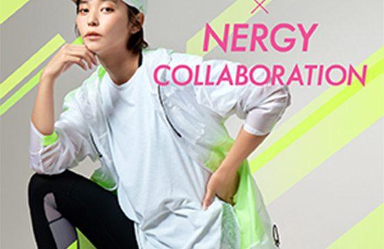 Rey ibuki×【NERGY】コラボレーションアイテムが登場。