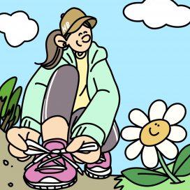 春 ランニング